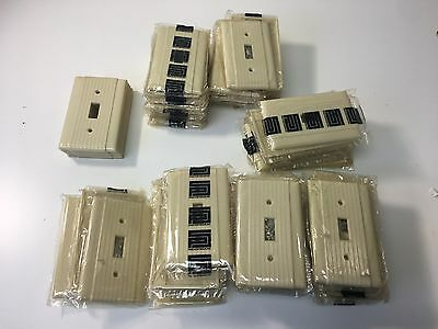 Lot Of 65 Vintage Uniline P&S BAKELITE ART DECO Single Light Switch Plate Cover