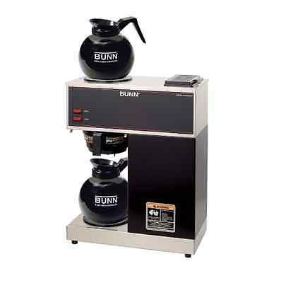 Restaurant Coffee Maker Bunn Commercial Brewer 12 Cup 2 Warmers Carafes Portable