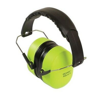 Laser 6224 Ear Protection Hi Viz Bright Green Yellow Defenders En352-1