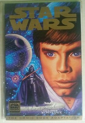Rare Star Wars the Comic Book Adaptation con certificado