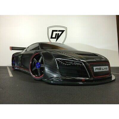 NEW Audi R8 Carbon Fibre Body (Vspc201218-Cf) from RC Hobby Land