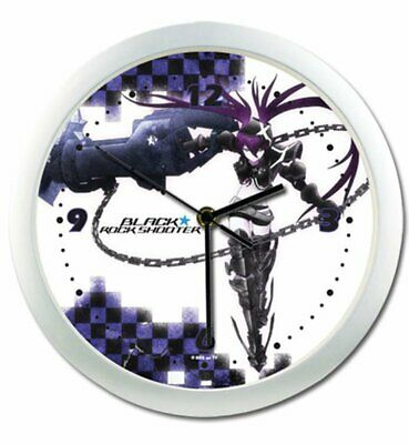 Wall Clock - Black Rock Shooter - Insane BRS New Toys Anime Licensed ge19066