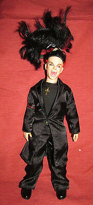 """Ozzy Osbourne 12"""" Poseable Doll w Complete Outfit 2002 Fun 4 All Osbourne Family"""