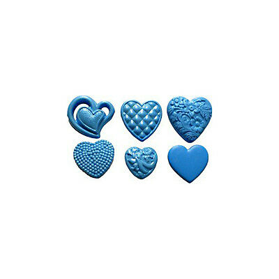 First Impressions Molds Silicone Mould - Hearts -  7 cavities