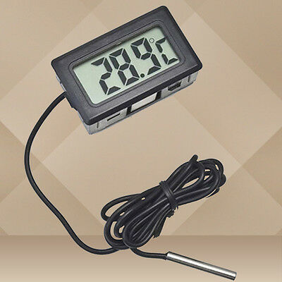 Indoor Temperature Humidity meter Thermometer Digital Temp Sensor Probe kit LCD