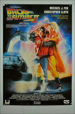 Back to the Future II Original Video Movie Poster