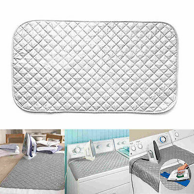 Magnetic Ironing Mat Laundry Pad Washer Dryer Heat Blanket Cover Board 48x85 cm