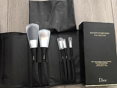 Christian Dior Backstage Brush Set Pouch Travel Set Professional RRP £112 Makeup