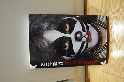 Peter Criss Signed Autobiography Makeup To Breakup Limited Edition.