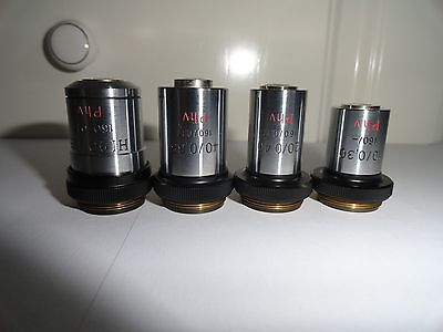 Carl Zeiss Jena - set of lenses PHV