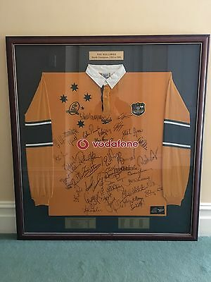 Wallabies Rugby World Championship Signed Jersey 1999