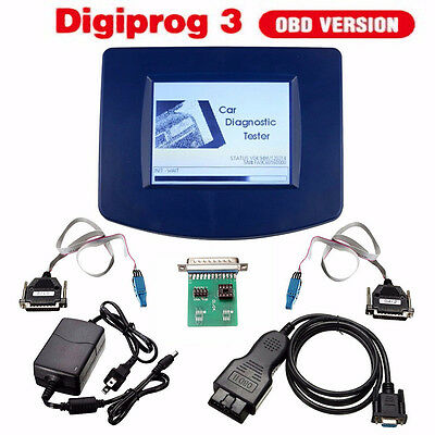Main Unit Digiprog 3 V4.94 w/ OBD2 ST01 ST04 Cable Cord Odometer Correction Tool