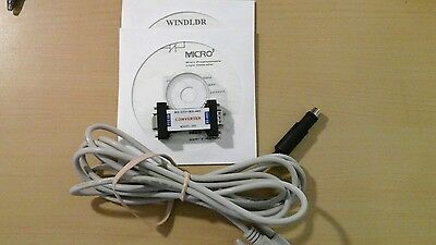 IDEC Micro3 PLC Programming Cable FC2A-KC2 w/ RS232/RS485 Converter and Software