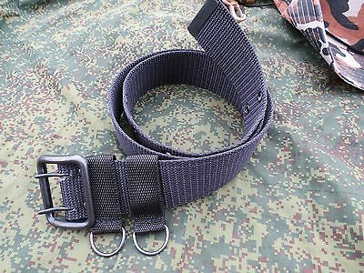Russian army waist belt metal buckle olive or black