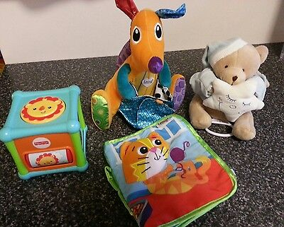 Lamaze kangeroo Baby Toys /PlayBook/Soft plush/ gift pack musical fisher price