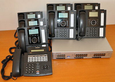 Samsung OfficeServ 7100 IP Telephone System PABX + 7x SMT-i5220 + 1x DS-5021D