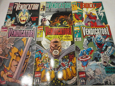 I VENDICATORI - SEQUENZA COMPLETA DA 3 A 23 - visitate COMPRO FUMETTI SHOP