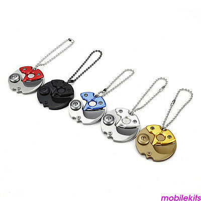 Coin EDC Keyring Keychain Necklace Karambit Stainless steel Neck claw NEW