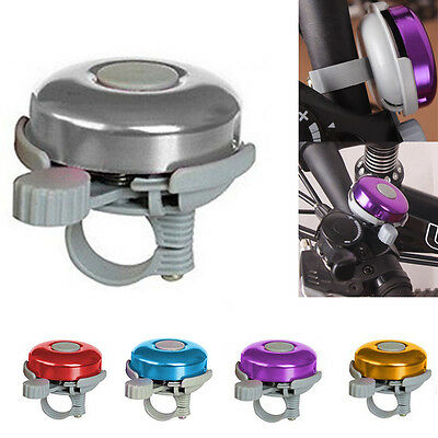 """New Classic Bicycle Bike Cycling Handlebar 2"""" Bell Ring Loud Horn Alarm 5 Colors"""