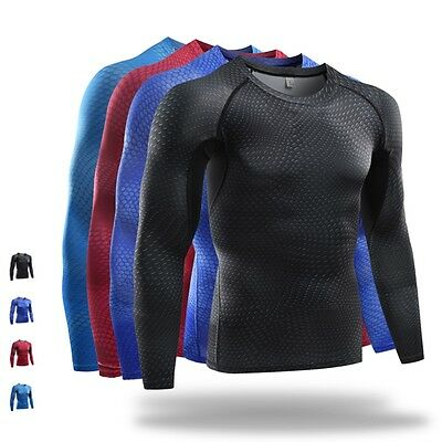 Seamless Men's Running Long Sleeve Breathable Camping Sports Tops Outdoor Coats