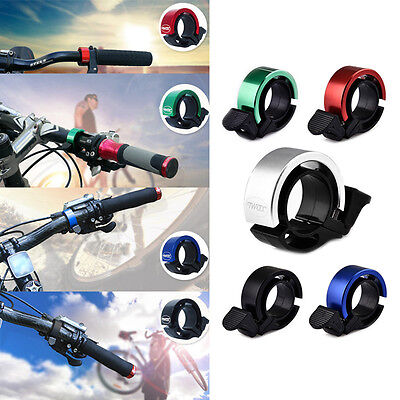 Bicycle Invisible Bell Aluminum Alloy Loud Sound Handlebar Safety Bike Horn