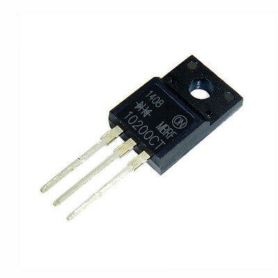 2PCS  TO-220 MBR10200CT MBR10200 Schottky Diode 10A200V