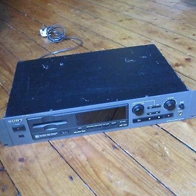 Sony MDS-E58 Minidisc Player Audiophile Separated Black Tested Working