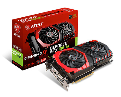New / Neu: MSI GeForce GTX 1080 Ti GAMING X 11GB GDDR5X OC Overclocked