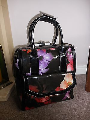Ted Baker - Floral Shadow Cabin  Bag / Travel Bag / Case