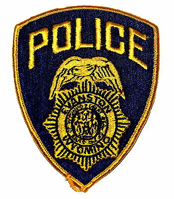 EVANSTON WYOMING WY Police Sheriff Patch STATE SEAL SHIELD ~