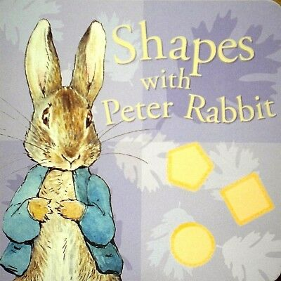 Shapes With Peter Rabbit | Board Book | Early Learning | Preschool | New