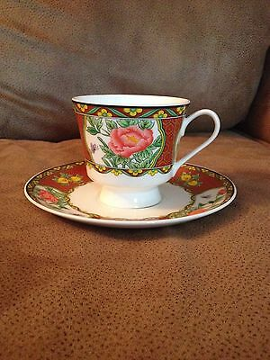 Mikasa Imperial Palace Bone China Teacup and Saucer (1161)