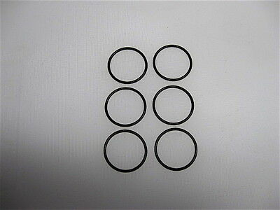 O-Ring 6 Pieces Size 23 1-16 x 1-1/16 x 1/16 Oil Resistant Buna-N  Metric 07x26
