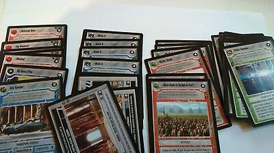 Star Wars CCG - Theed Palace Light Side common and uncommon set