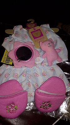 New build A Bear pajamas/ slipper clothes  For Chad Valley build a bear