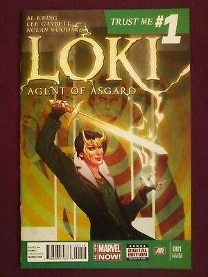 Loki Agent of Asgard #1 (2014) Marvel Comics Variant