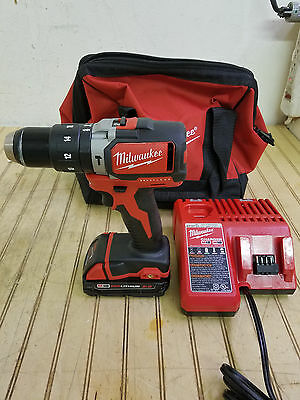 Milwaukee 2702-20 Brushless 1/2 Hammer Drill Battery and Charger kit