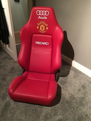 manchester united official Dugout Chair/seat