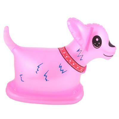 Inflatable Blow Up Pink Dog Animal Toy Swimming Pool Novelty Party Decor