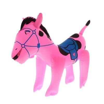 Inflatable Blow Up Horse Animal Toy Swimming Pool Novelty Party Decoration