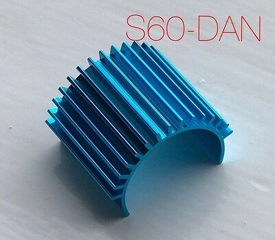 Motor Heatsink Anodised Blue For 370 380