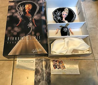 Barbie Diamond Dazzle The Jewel Essence Collection Bob Mackie Doll NEW in box