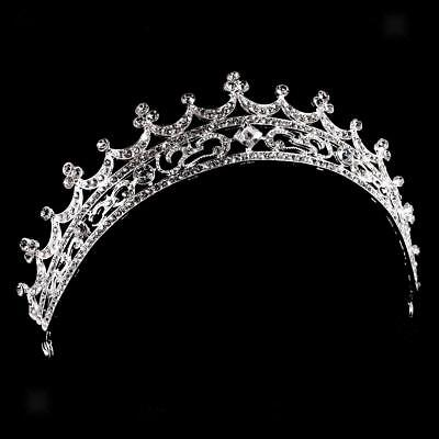 Wedding Bridal Bridesmaid Princess Crown Moon Prom Tiara Headband Headpiece