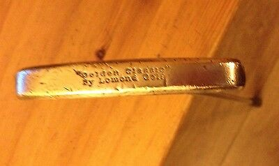 Lomond Golf Golden Classic Brass Putter