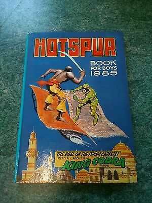 Vintage Hotspur book for boys 1985 Hardback in Gt condition