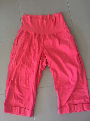 Maternity Pants Trousers 3/4 Size 14 Target