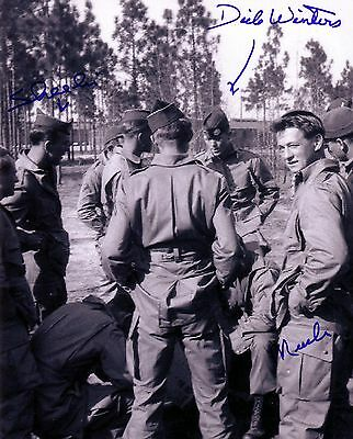 Major Dick Winters Band Of Brothers Easy Company Autographed 11x14 Collectible 5