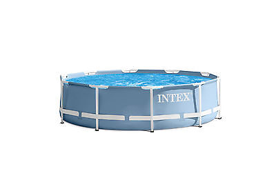 NEW Intex 28701EH Prism Frame Swimming Pool 10x30in Set
