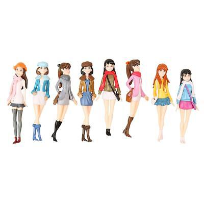 Pack/20pcs 1:20 G Scale DIY Pretty Girls Lady Model Figures People Accessory
