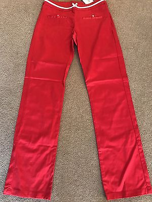 Christian Dior Red  Girls Trousers Age 12A New With Tag